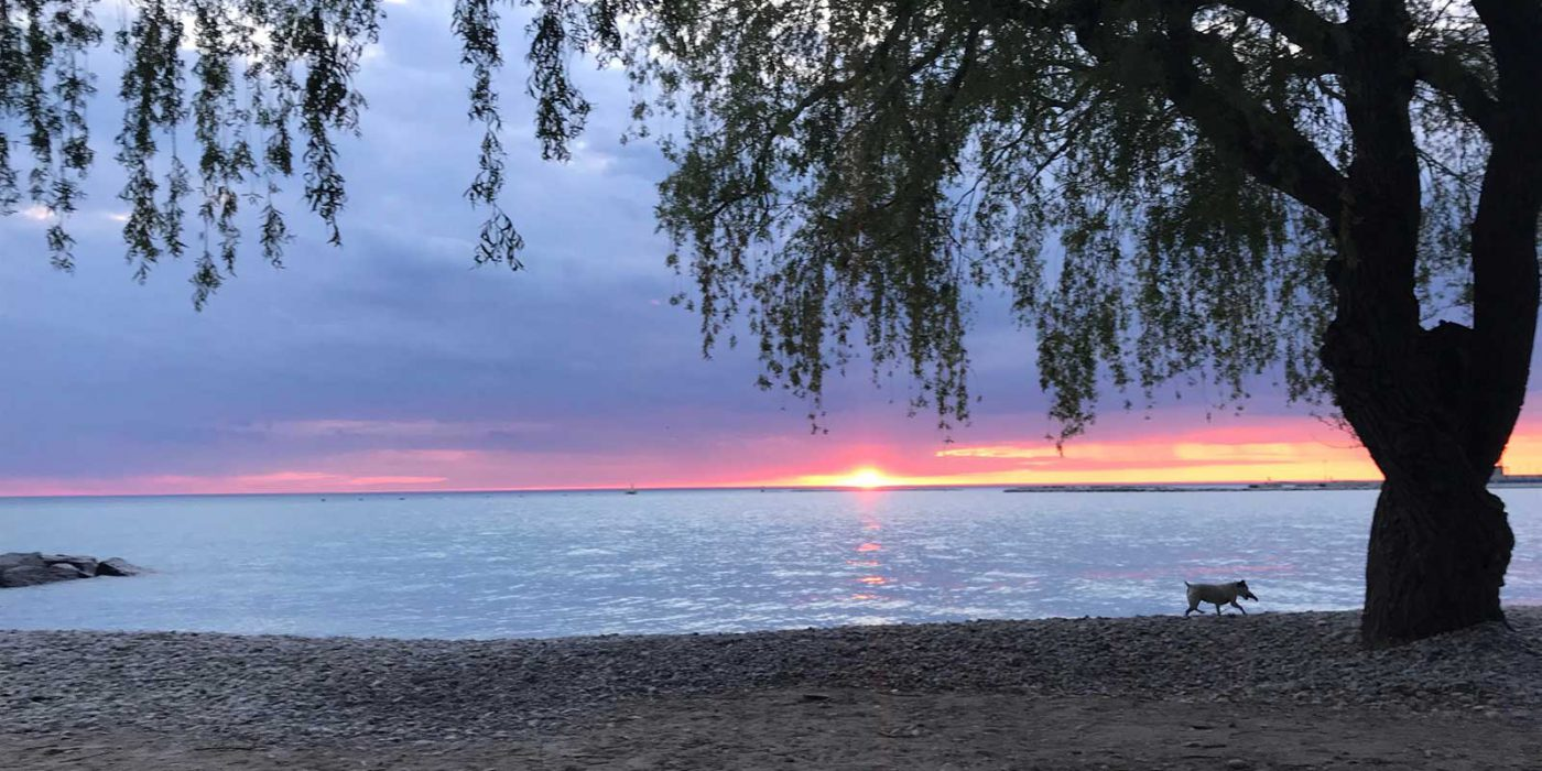Goderich Rotary Cove at Sunset