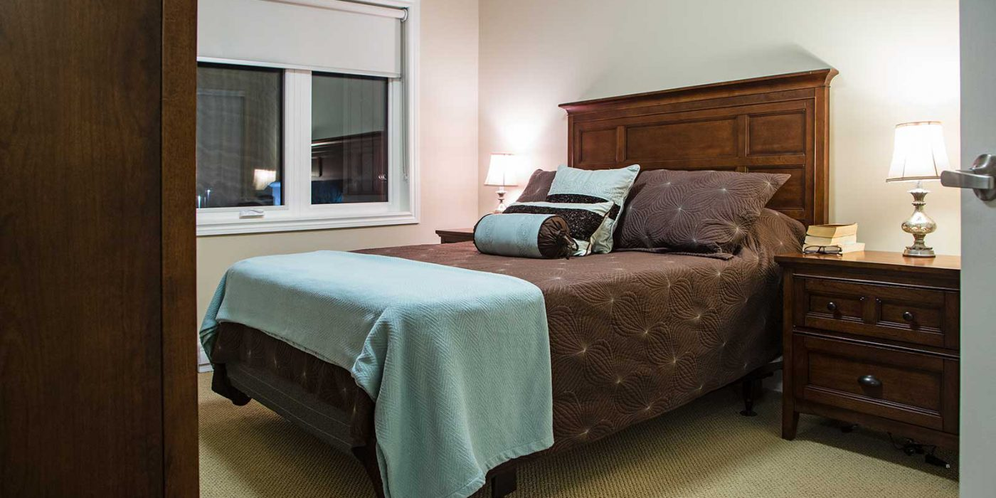 Harbour Hill Model Suite, Bedroom