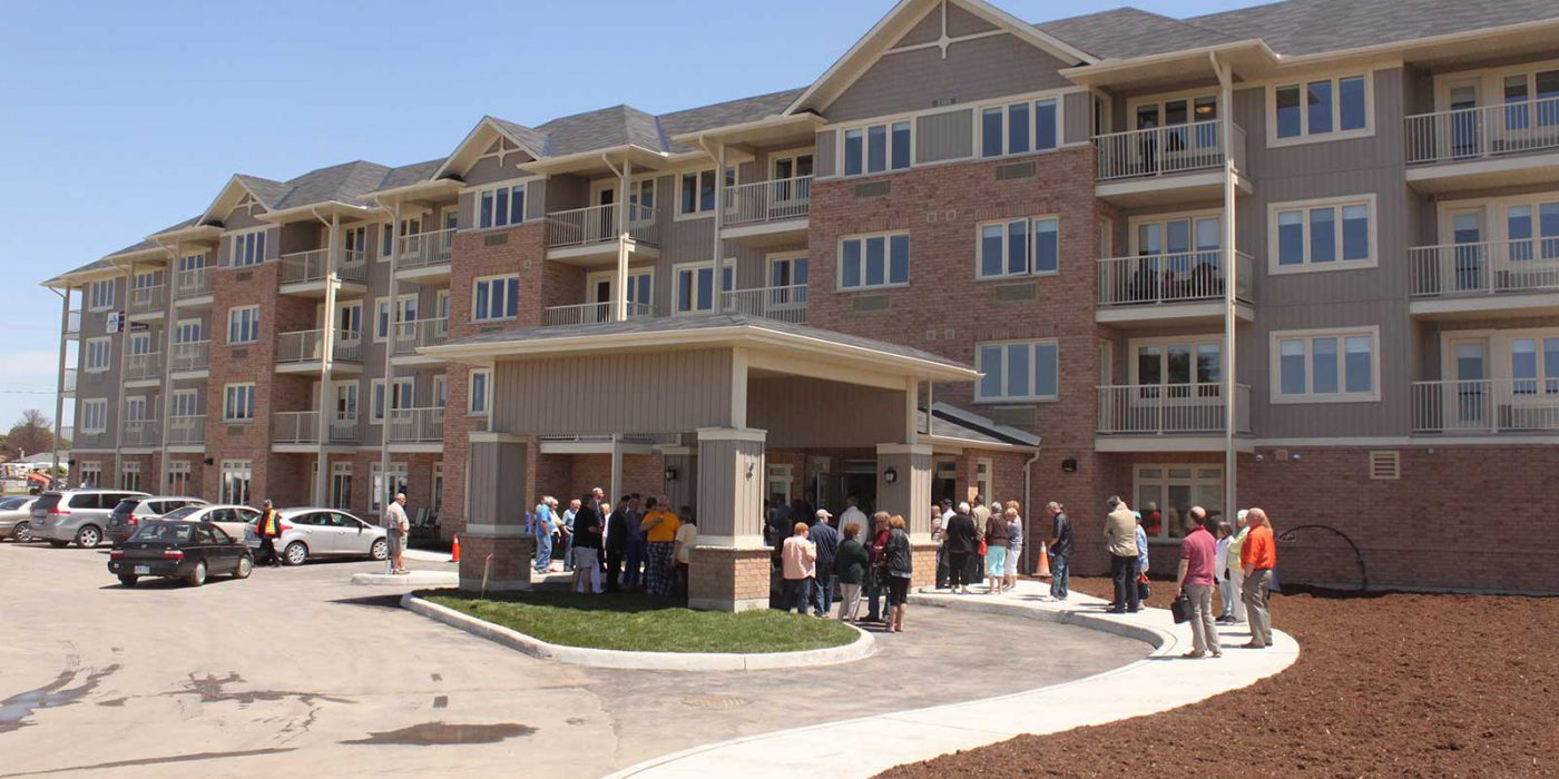 Harbour Hill Retirement Community, Phase 1, Grand Opening