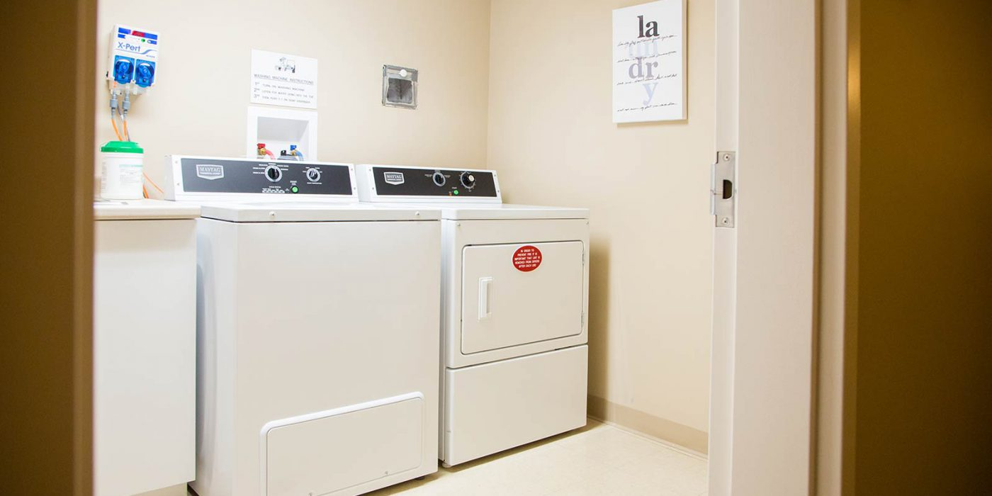 Harbour Hill, Phase 1, Typical Floor Laundry Room