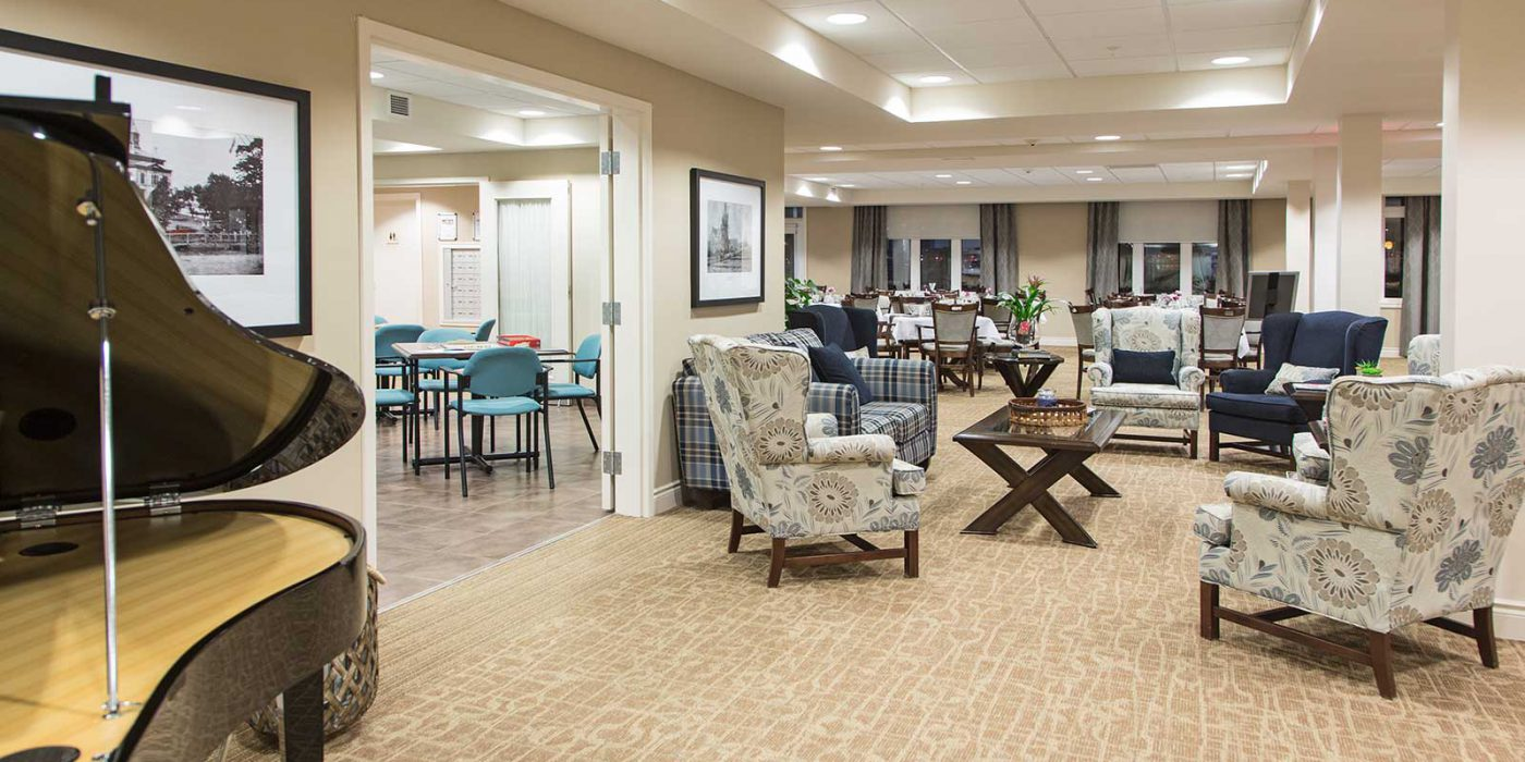 Harbour Hill, Phase 1 Retirement Living with Care Lobby