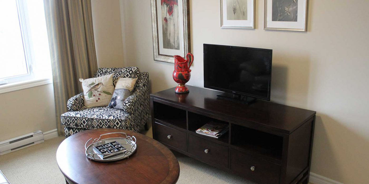 Harbour Hill Model Suite 2, Living Room