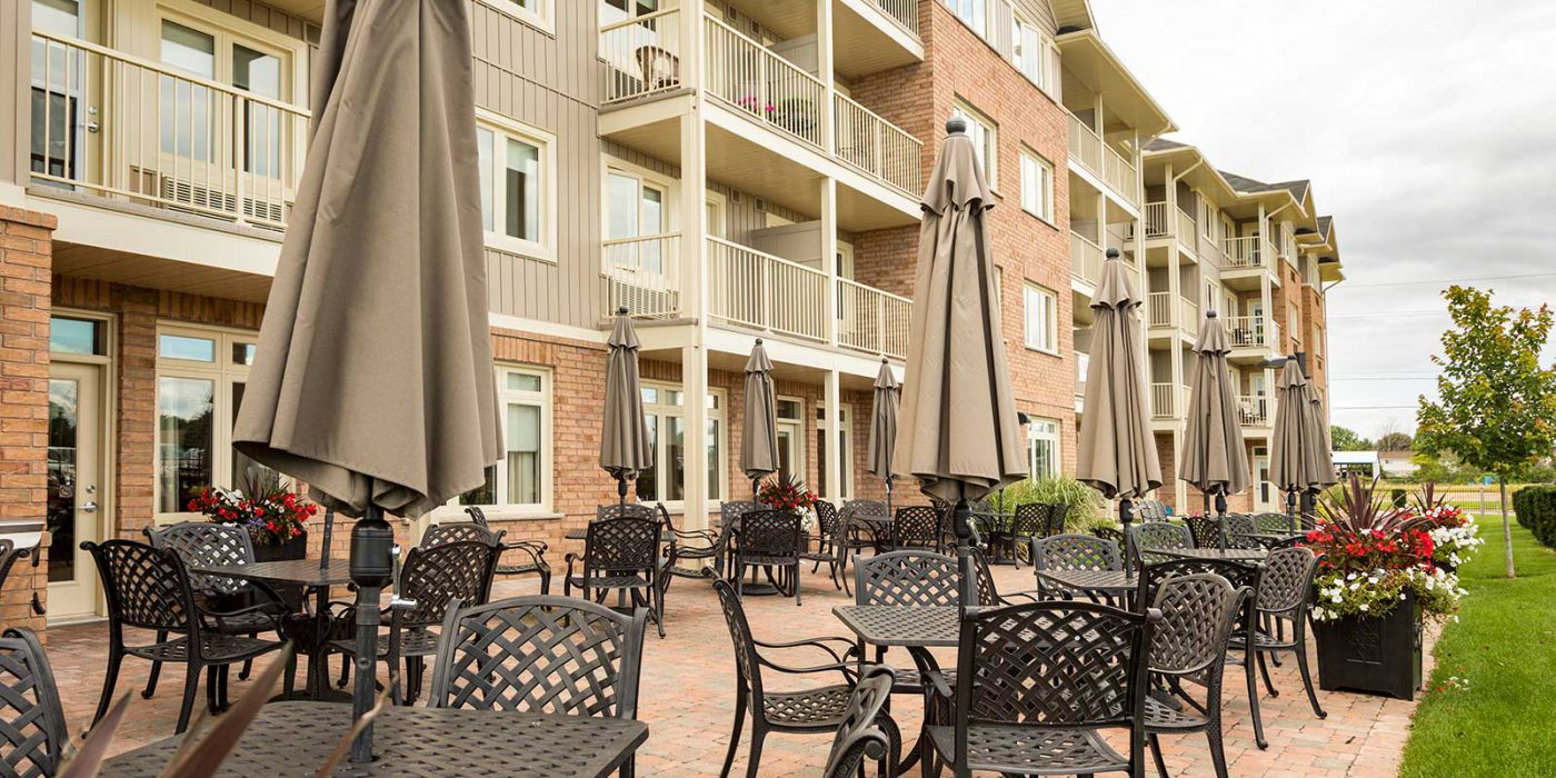 Harbour Hill Community Phase 1, Exterior Patio