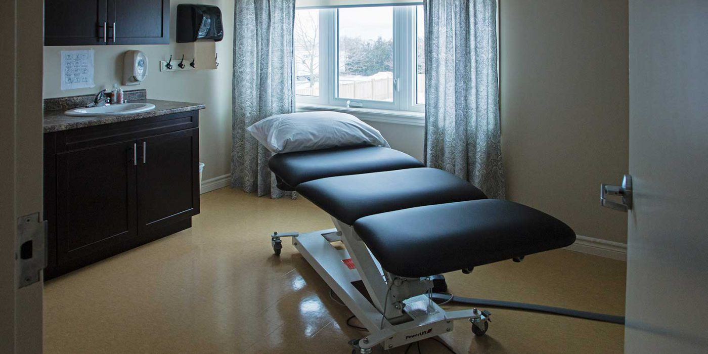 Harbour Hill Community Massage Room